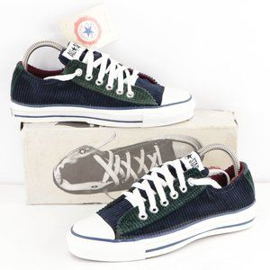 New Vintage Converse All Star Low Corduroy Shoes